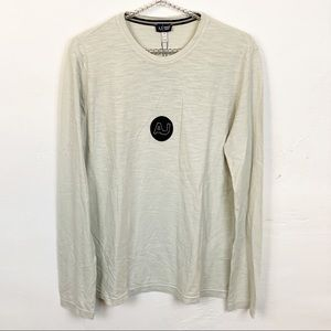 Armani Jeans l Grey Long Sleeve T-shirt
